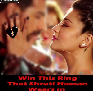 Win Ornamas Ring That Shruti Hassan Wears in Welcome Back