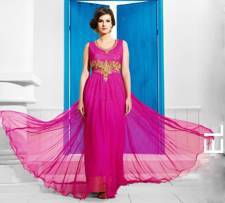 Image result for new style long gown pic