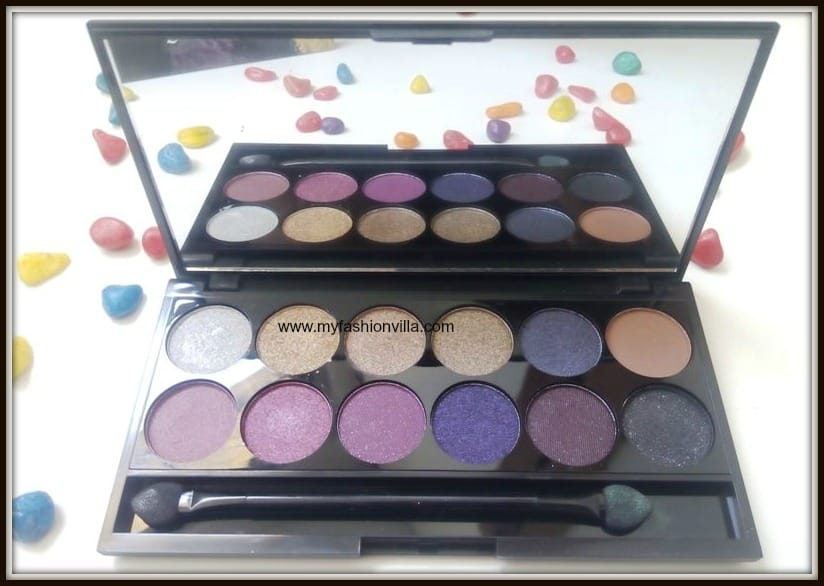 Sleek Eyeshadow Palette Swatches and Review