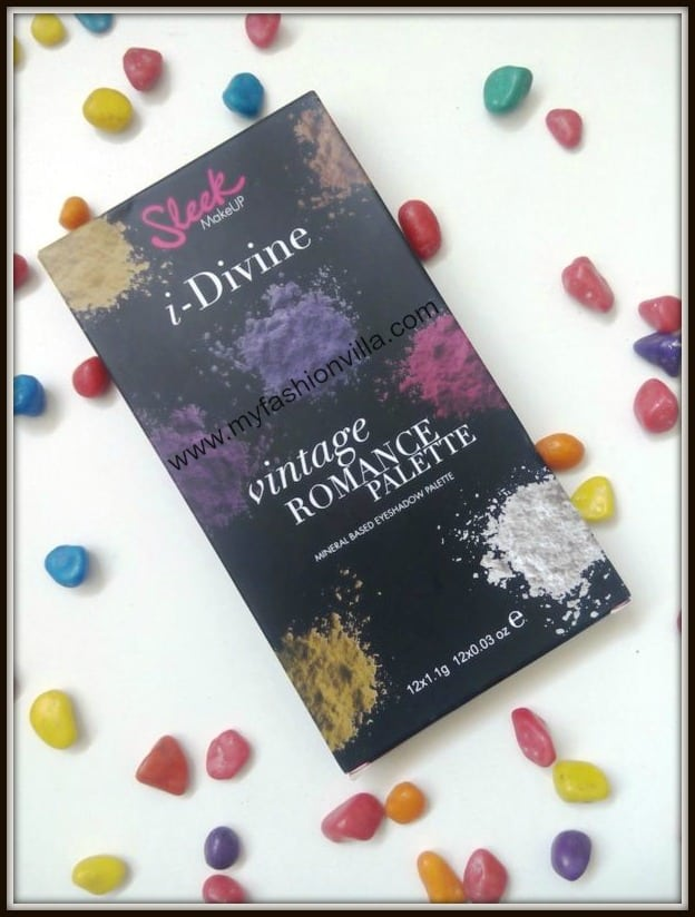 Sleek I-Divine Eyeshadow Palette In Vintage Romance Swatches and Review