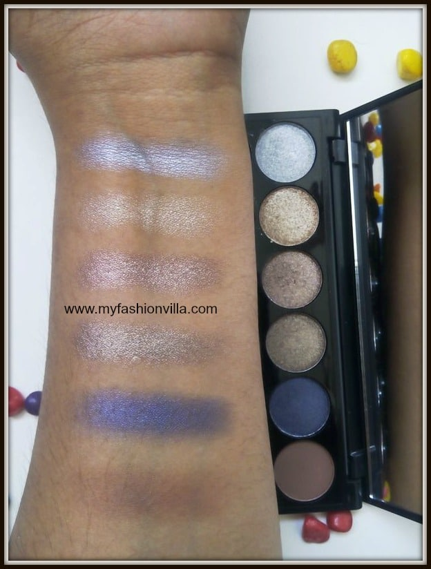 Sleek I-Divine Eyeshadow Palette In Vintage Romance Swatches