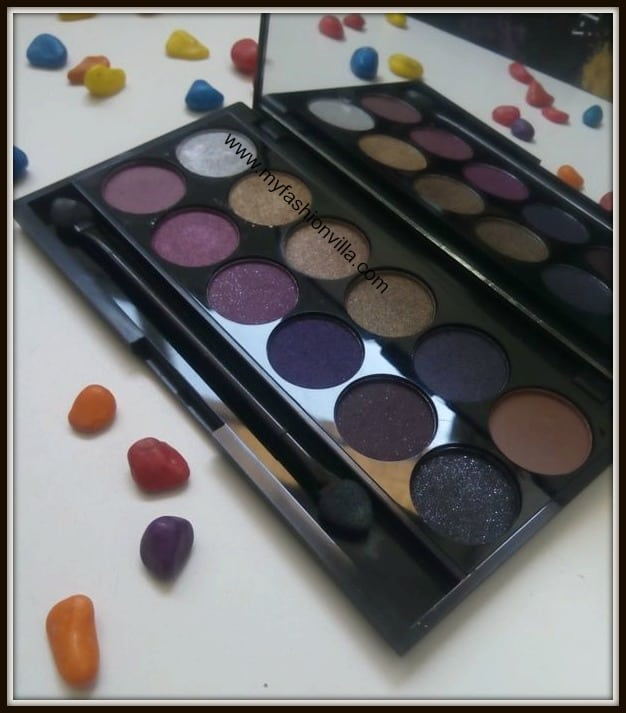 Sleek Vintage Romance Eye Shadows Swatches and Review