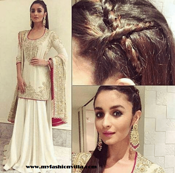 Alia Bhatt for Masaba's Wedding Reception