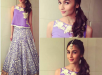Alia Bhatt in in manish malhotra for Masaba's Sangeet