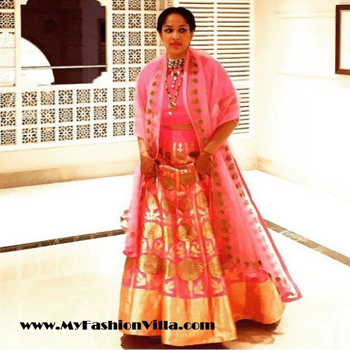 Masaba Gupta on Her Sangeet & Her Lehenga Wearing Raw Mango