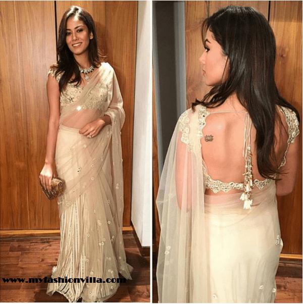 Mira Kapoor in Arpita Mehta at Masaba Gupta's Wedding Reception