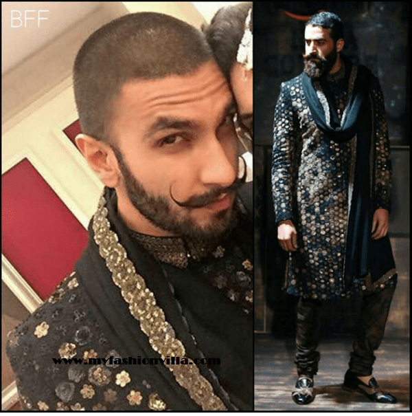 Ranveer in in sabyasachi for Masaba's Wedding Reception