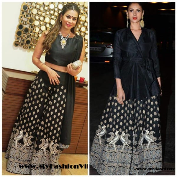 Who Wore It Better Shaheen Abbas or Aditi Rao Hydari