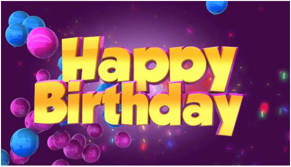 Personalized Video on Birthday wishing Happy Birthday