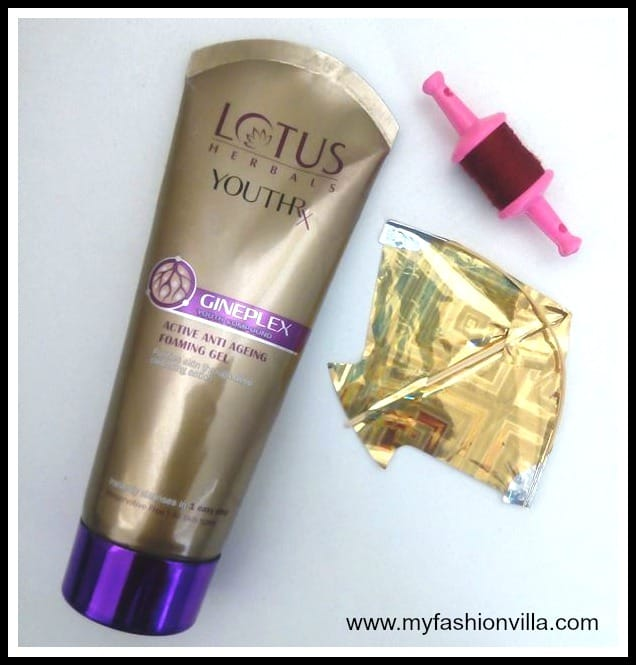 Lotus Herbals YouthRX Anti-Ageing Foaming Gel Review