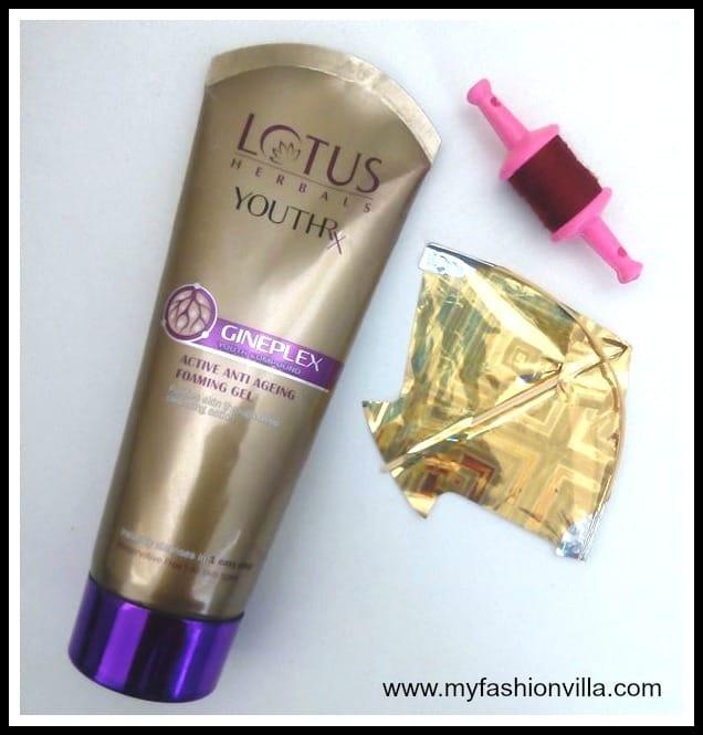 Lotus Herbals YouthRX Anti-Ageing Foaming Gel Review