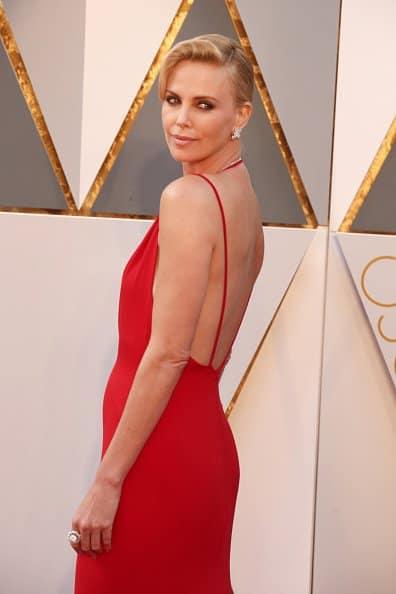Charlize Theron at Oscars 2016