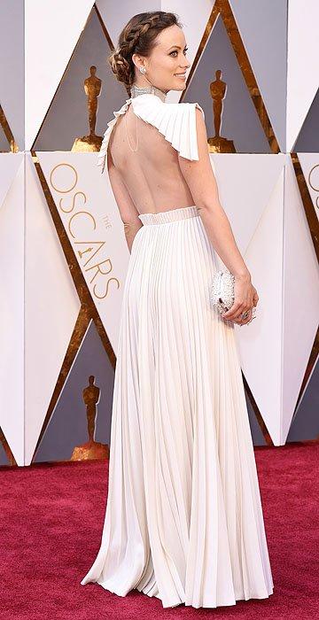 olivia wilde in Velentino Oscars 2016