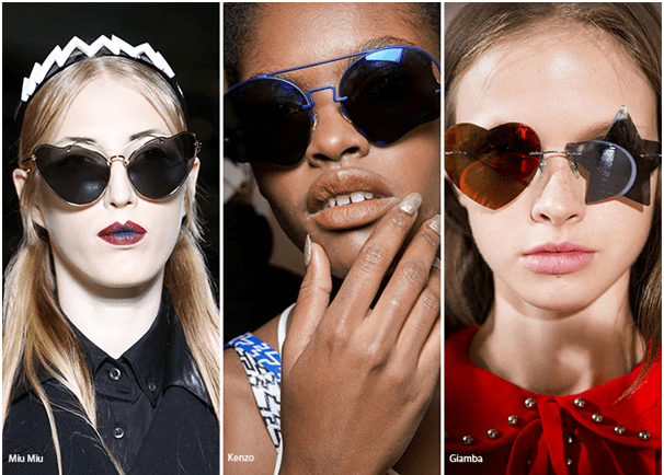 Irregular Shape Glasses - Eyewear Trends 2016
