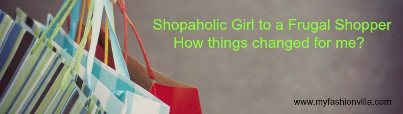 Shopaholic Girl to a Frugal Shopper