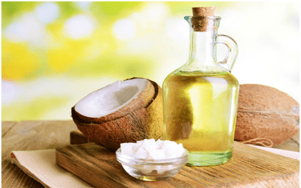 Use coconut oil as an eye make-up remover