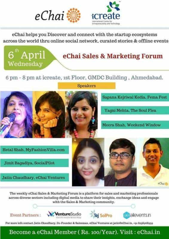 echai sales and marketing forum