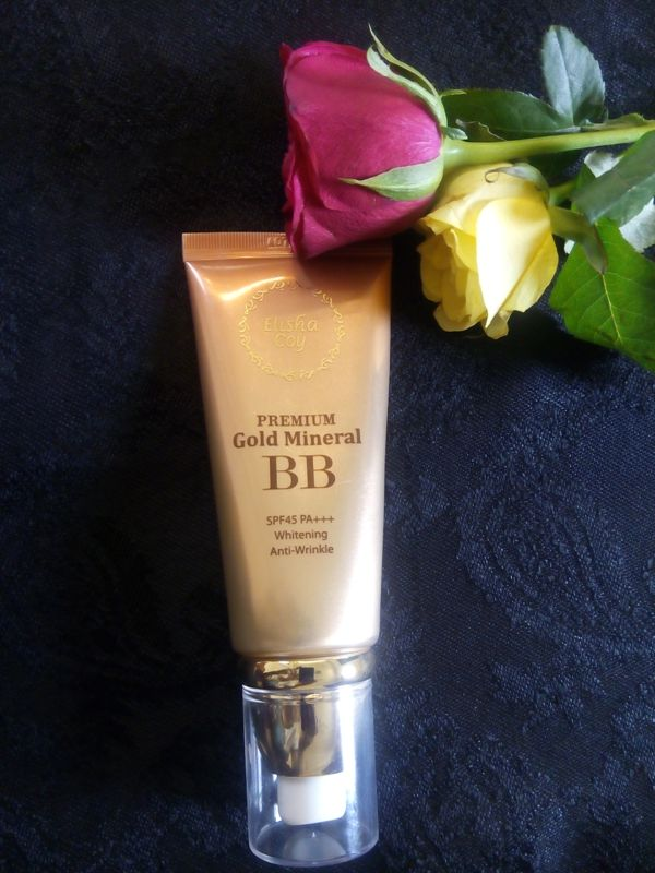 Elisha Coy Premium Gold Mineral BB Cream SPF45 PA+++ Review