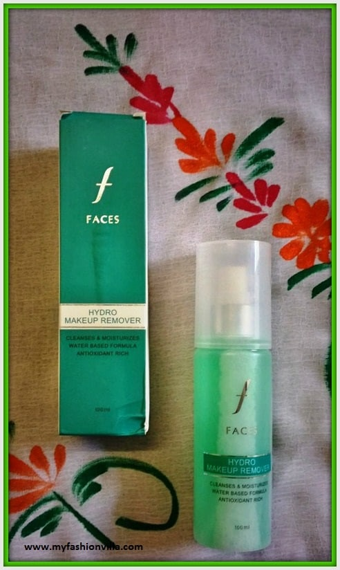 FACES Hydro Makeup Remover