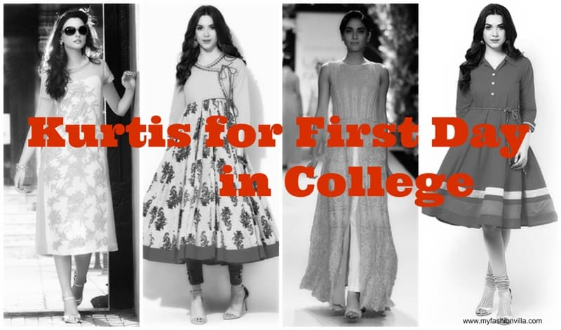 9 Types Of Kurtis Perfect For First Day In College