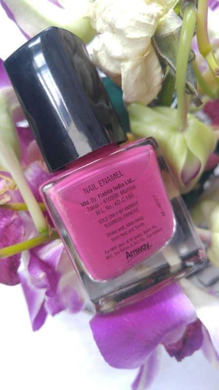 Amway Attitude Bold Pink Nail Enamel Review