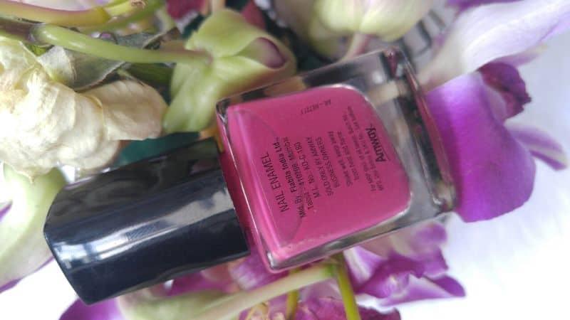 Amway Attitude Nail Enamel Nail Paint Review