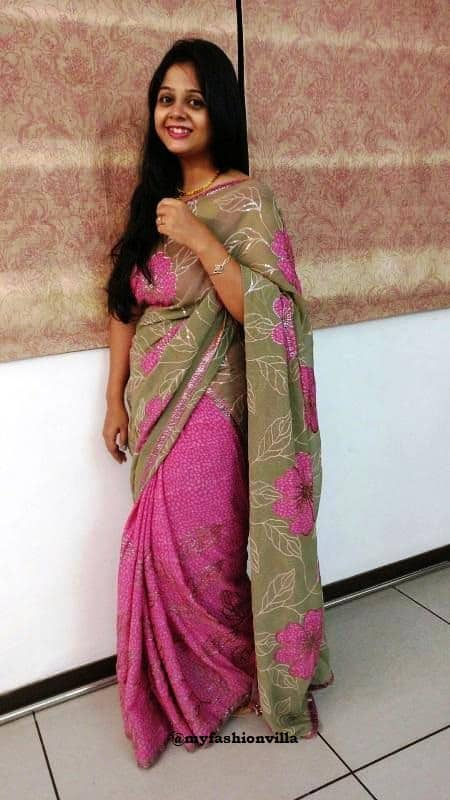 saree-i-wore-on-diwali