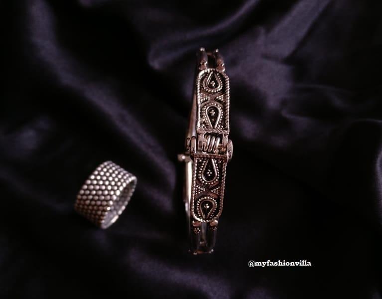 german-silver-jwelery-rings-and-bracelet