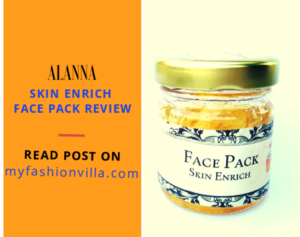 Alanna (Organic) Skin Enrich Honey Face Pack for Dry and Sensitive Skin Review