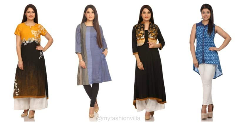 8 Types of Smart & Trendy Kurtas by BIBA for Working Professionals