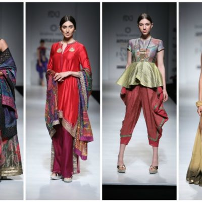 DAY1 of Amazon India Fashion Week A/W 2017-Designers, Shows, Collection & Pictures