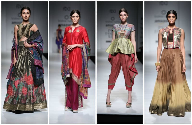 DAY1 of Amazon India Fashion Week A/W 2017-Designers ...