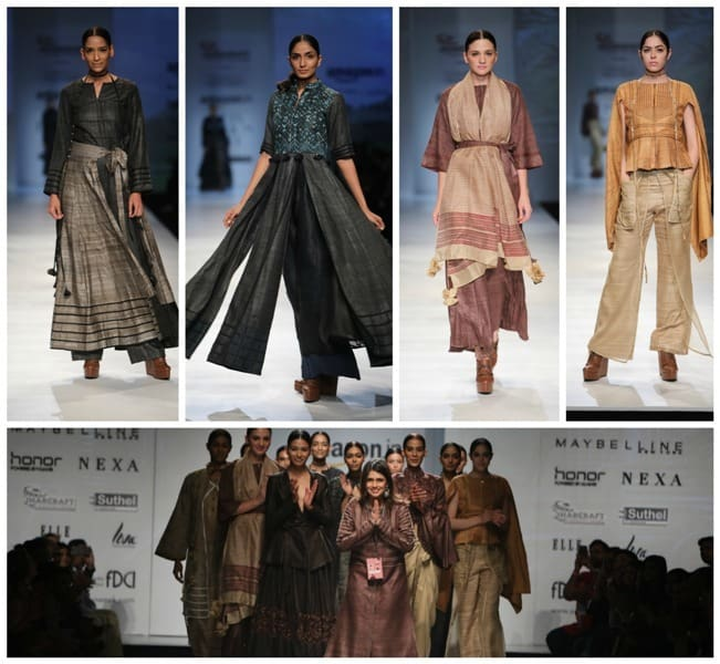 Pinnacle by Shruti Sancheti at Amazon India Fashion Week 2017