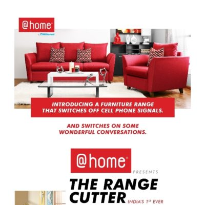 At-Home Presents the Range Cutter – India's First Innovative Range of Furniture
