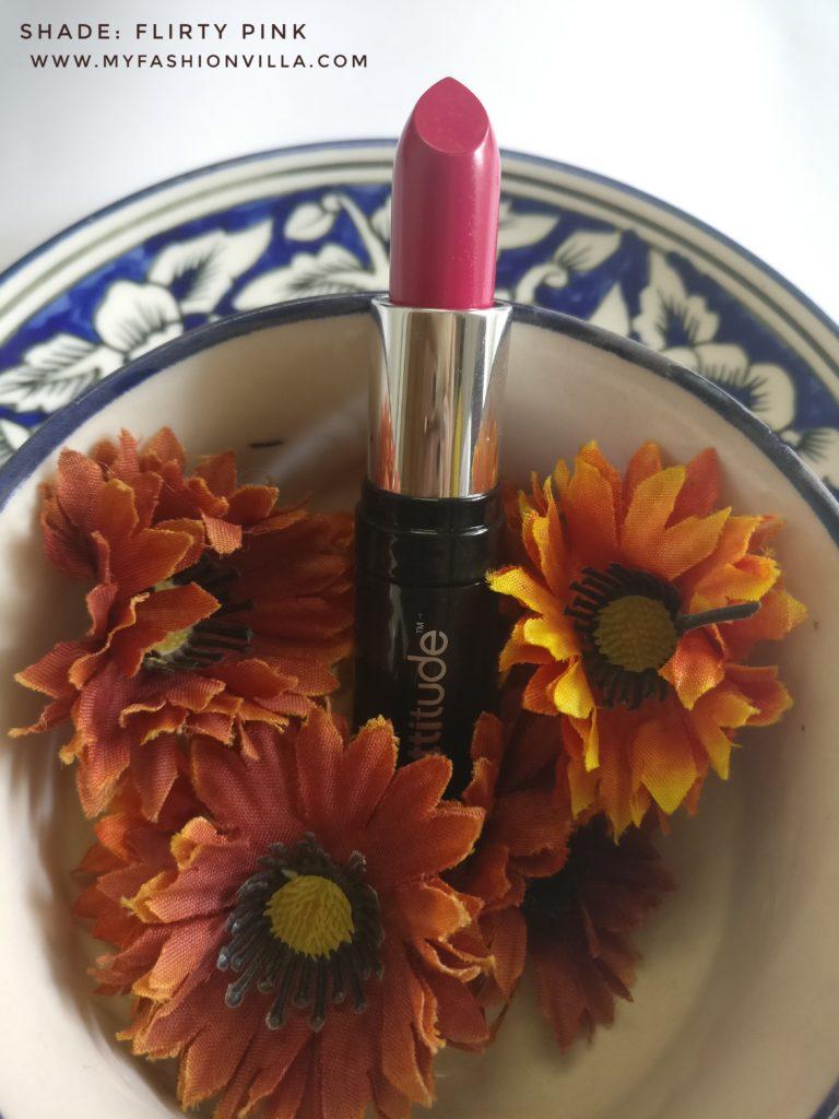 Amway Attitude Lipstick Flirty Pink