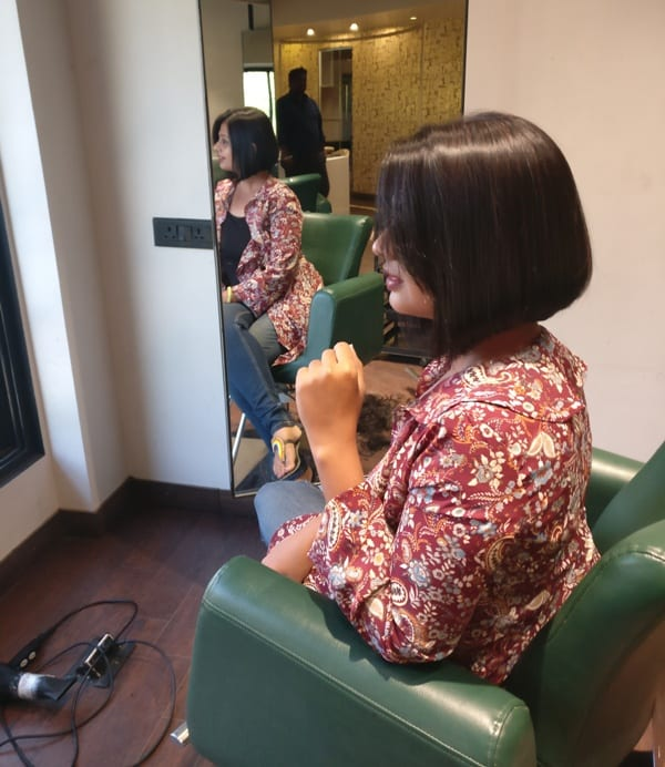 my haircut story