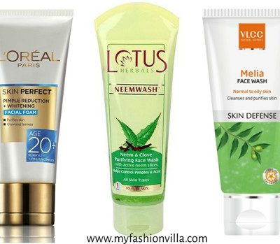 Best Face Wash In India For Oily Acne Prone Skin With Pimples