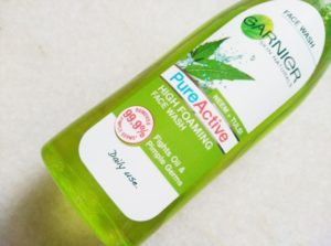 Garnier-Neem-Tulsi-Pure-Active-High-Foaming-Face-Wash-review