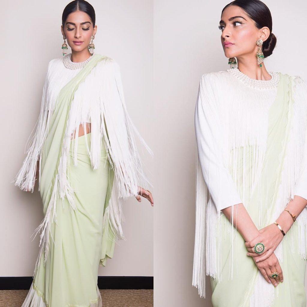 fringe blouse design