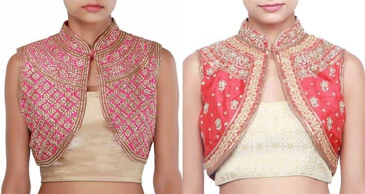 lace blouse design
