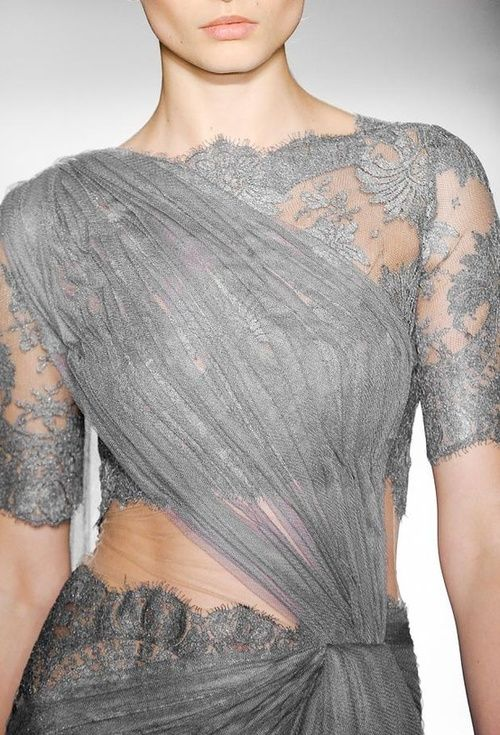 lace blouse design