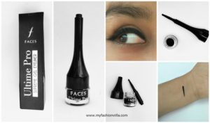 FACES Cosmetics Ultime Pro Supreme Gel Eyeliner Price and Review