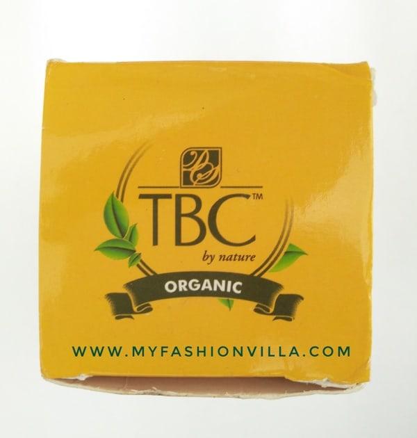 TBC Organic Sunblock Mattifying Cream SPF 30