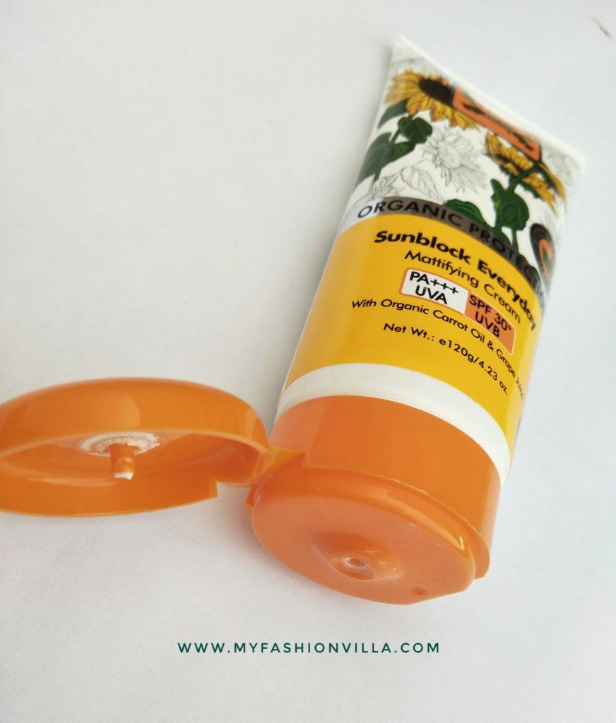 TBC by nature Sunblock cream SPF 30+