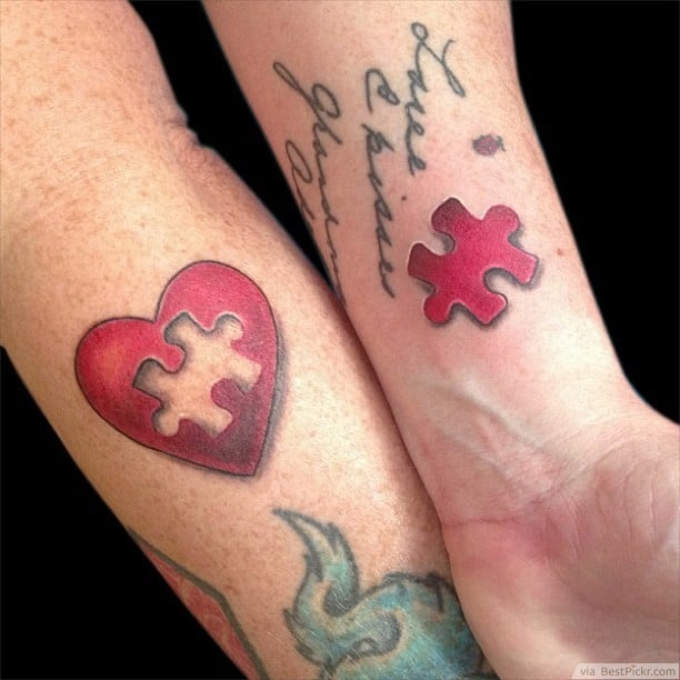 The-Missing-Puzzle-matching-tattoos-for-married-couples