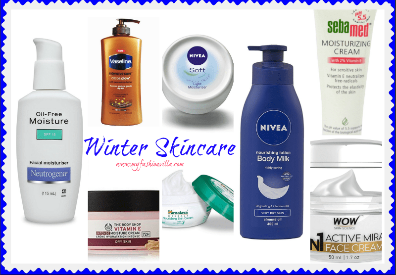 BEST MOISTURIZERS in Winter