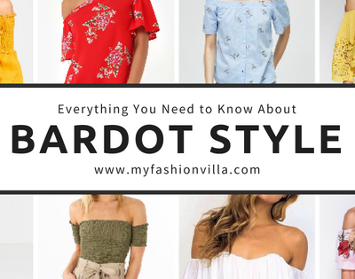 Bardot Tops & Dresses – Style Tips to Wear Bardot Style like a Pro!