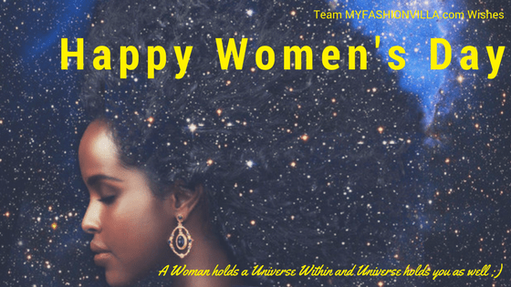 MyFashionVilla Wishes Happy Women's Day