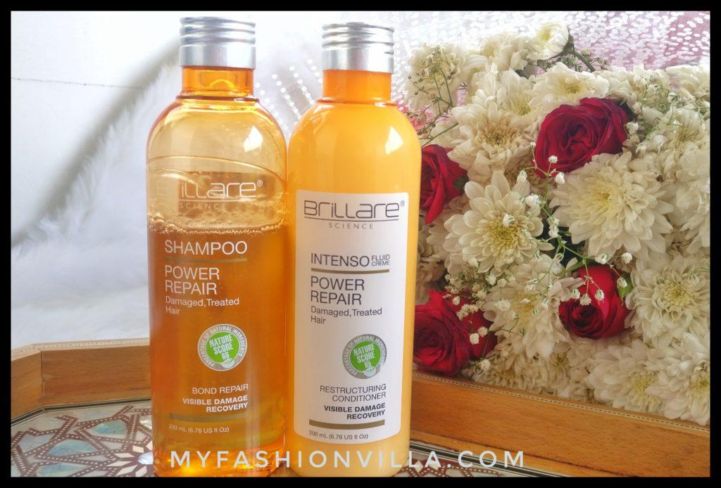 Brillare Shampoo and Conditioner Review
