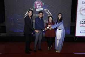 INIFD Gandhimagar been Awarded my 94.3 My FM